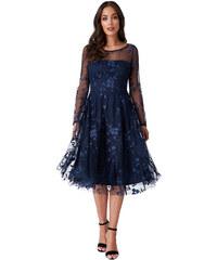 b12b5008bae CITYGODDESS Společenské šaty Harmonia tmavě modré