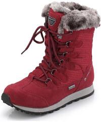 Dámská zimní obuv Alpine Pro ALLYSON - tmavě červená 4ca23b4f7b