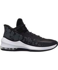 basketbalové boty boty Nike Air Max Infuriate 2 pánské Basketball  Black Black Wht 039349850f4