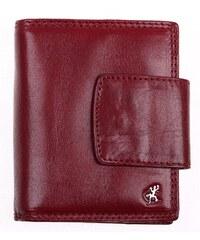 Dámská kožená peněženka Cosset 4404 Komodo vínová 0089afdb32