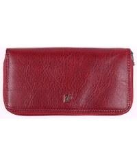 Velká dámská kožená peněženka penál Cosset 4492 Komodo bordó 6c9334f1cd
