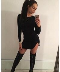 Ewomen Šaty Neck Off January grace Dress 0f078ed533