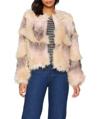 taille Femme Manteau 12 Fur 40 Fabricant dark Denham Look Khaki Vert Faux New q8wARnxaZ