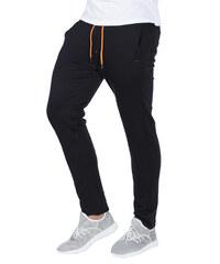 e837c4a1aebf Ombre Clothing Pánske teplákové nohavice Cort čierne