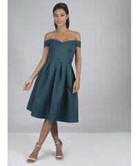 Společenské petrolejové šaty Chi Chi London Jadei ba47f9c2b6