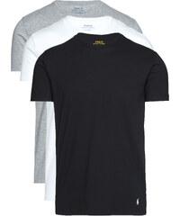Férfi Polo Ralph Lauren 3 db-os Alsó póló szett Fekete Fehér Szürke ebbd5cec1b