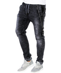 Ombre Clothing Pánské riflové jogger kalhoty Briggs černé - Glami.cz 9ecd371291