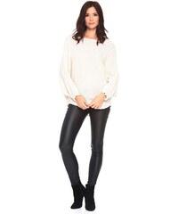 0d6a3d324e42 La Belle Parisienne Dámsky sveter PULL CAROLINE BEIGE