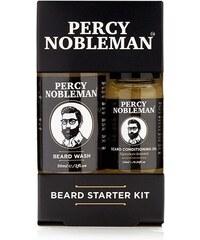 Percy Nobleman Malá darčeková sada starostlivosti o fúzy a fúzy (Beard  Starter Kit) 0bc81ff14d9