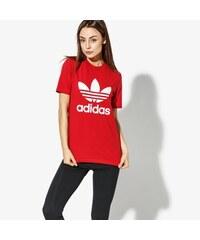 low priced 76cc3 49014 Adidas Tričko Trefoil Tee Adicolor ženy Oblečení Trička DH3172 Červená