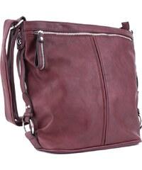 Mahel Červená velká moderní velká crossbody kabelka Ulbiel d9d608411ed
