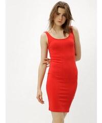3a8c7febfaa8 Strikingstyle Sexi púzdrové šaty s tylom   červené - Glami.sk
