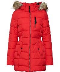 c8547cc0f4 MODOVO Krátky dámsky kabát s kapucňou 2102 červený - Glami.sk