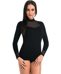 Teyli Destanee elegáns női póló fekete 0ba27fc7ff