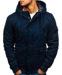 Tmavě modrá pánská zimní bunda Bolf 1890 f4fab7629dd58