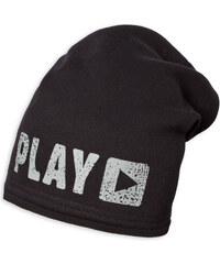 Chlapecká zimní čepice YETTY PLAY černá 2e9f04a5c8