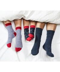 Puntíkaté dámské ponožky  e3fe1aa92b