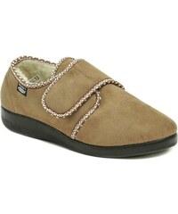 Rogallo 4340-004 béžové dámské zimní papuče 81b9037674