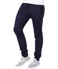 4236e87c238 Ombre Clothing Černé pánské maskáčové jogger kalhoty Blaise - Glami.cz