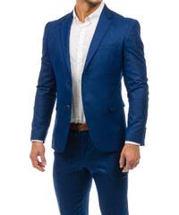 48a5ceaaf3 Tmavě modrý pánský oblek-1 Bolf 1000