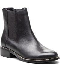 Černé dámské kožené chelsea boty ALDO Pessa - Glami.cz 073acb224a