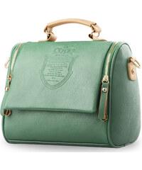 World-Style.cz Listonoška kufřík s raženým vzorem mátová c04773e8909
