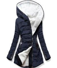 MODOVO Női steppelt kabát 1088 sötétkék - Glami.hu 987c9154de