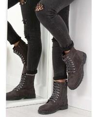 LaraRuby.sk 061-27-1 Členkové topánky sivé d1202c11493