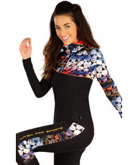 LITEX Mikina dámská s kapucí. 55112901 černá L 012f423f14