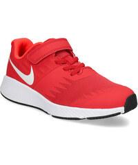 Nike Červené dětské tenisky na suchý zip 41a5bbf7686