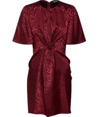 Fashion Union Koktejlové šaty  SISSY  merlot 5c0be0883a
