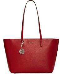 8732b86474 DKNY Donna Karan DKNY kožená kabelka přes rameno large Bryant safari red