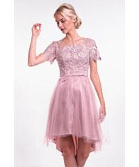 Chi-Chi London ružové šaty 0b39e0cb501