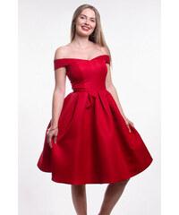 Chi-Chi London červené šaty 0459183a876