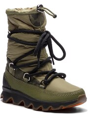 Snehule SOREL - Kinetic Boot NL3101 Hiker Green Black 371 58fa8c60e07