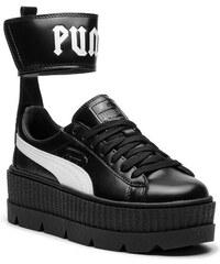 Sneakersy PUMA - Ankle Strap Sneaker 366264 03 Puma Black Puma White a0cb125eb10
