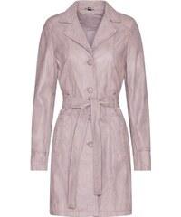 Dámský kožený kabát Riana (83205642) Kara 1052a6e4c91
