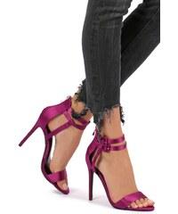 United Fashion Fuchsiové sandály Elizabeth ec65a0fb01