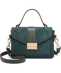 1915717f30 Lulu Bags (Anglie) Štýlová zelená menšia dámska kabelka Miss Lulu