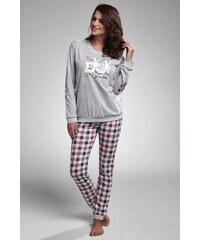 Cornette Dámské pyžamo My Family šedá bc3593a7f5