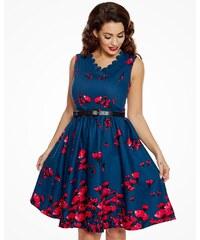 Modré retro značiek Dámske oblečenie - Glami.sk abd7147923c