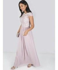 d93a5e174185 Chi Chi London Chi Chi Birdie Ružové Spoločenské Šaty