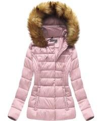 Jejmoda Dámska zimná bunda MODA032-30 ružová 0a5d592635
