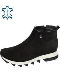 c1183e113b24 OLIVIA SHOES Čierne topánky na extravagantnej podošve BERLINO DKO090
