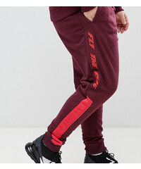Blend Plus fly the flag sweatpants co-ord - Wine red 8f6354be27