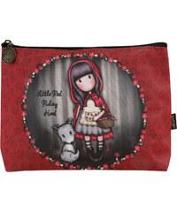 Santoro piros kozmetikai táska Gorjuss Little Red Riding Hood b4b806a98b