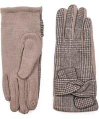 43f4321da78 ArtOfPolo dámské rukavice Oxford Hnědé
