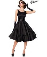234d16690227 Čierne rockabilly retro šaty POSH STYLE Belsira 50125