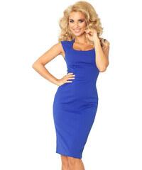 51c391811b6e Numoco Puzdrové šaty 53-10 – kráľovská modrá