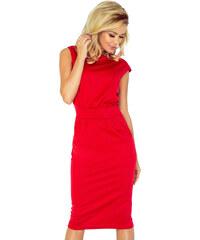 bb1525b45291 Numoco Elegantné dámske šaty 144-2 SARA – červené